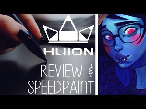 Huion Inspiroy Q11k TABLET REVIEW   Mei Speedpaint