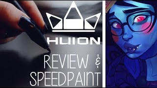 Huion Inspiroy Q11k TABLET REVIEW | Mei Speedpaint