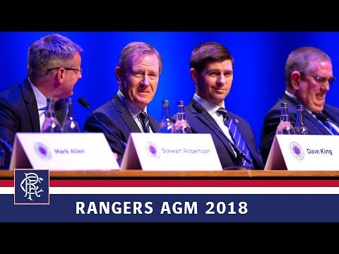 RANGERS AGM 2018   Dave King Interview