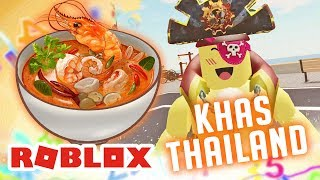 SELL TOM YUM SOUP & Other TYPICAL Thai FOOD | ROBLOX INDONESiA