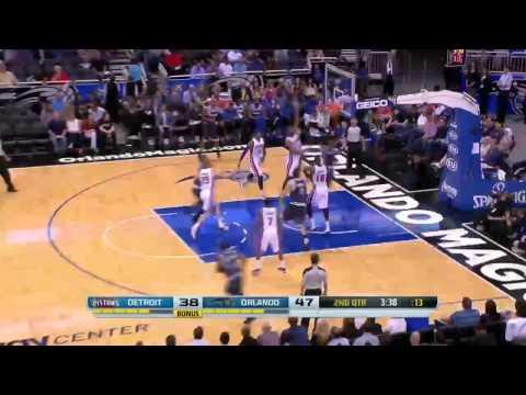 Detroit Pistons vs Orlando Magic | February 5, 2014 | NBA 2013-14 Season