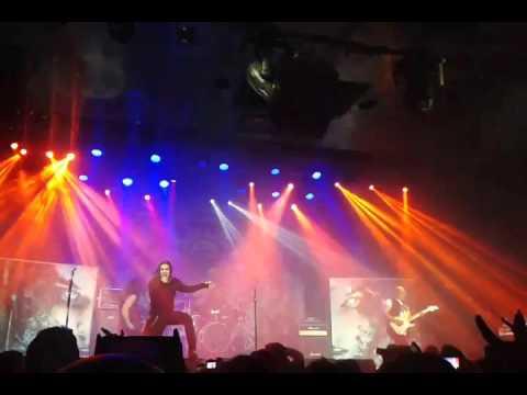 SARATOGA A Sangre Y Fuego (Sala La Riviera Madrid 9-1-16)