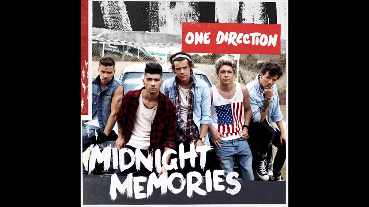 One Direction - 04 - Midnight Memories - Midnight Memories ...One Direction Over Again Album Cover