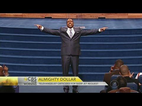 Pastor Asks Congregation For $65 MIL Jet