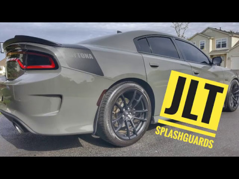 Jlt Splash Guards On The Daytona Youtube