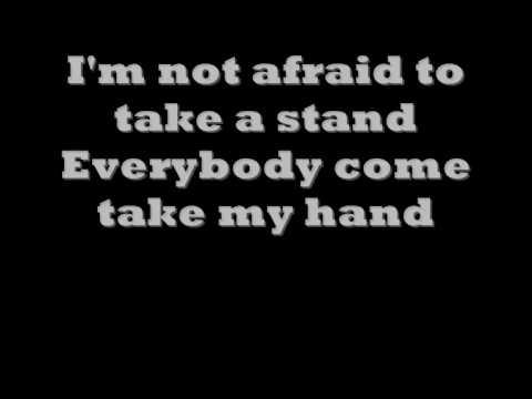 Eminem not afraid LYRICS ON SCREEN! - YouTube