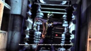 Batman: Arkham Asylum Walkthrough Part 1 - The Inmates are Running the Asylum