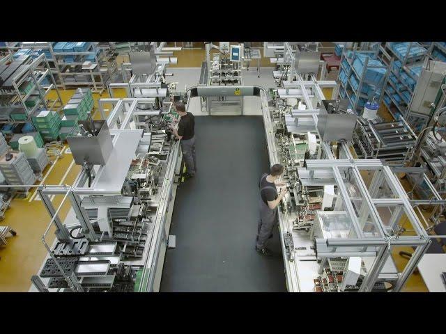 Industry 4.0 - Bosch Rexroth Multiproduktlinie