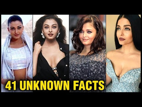Aishwarya Rai Bachchan 41 Interesting And Unknown FACTS | Affairs, Marriage, Pregnancy, Modelling