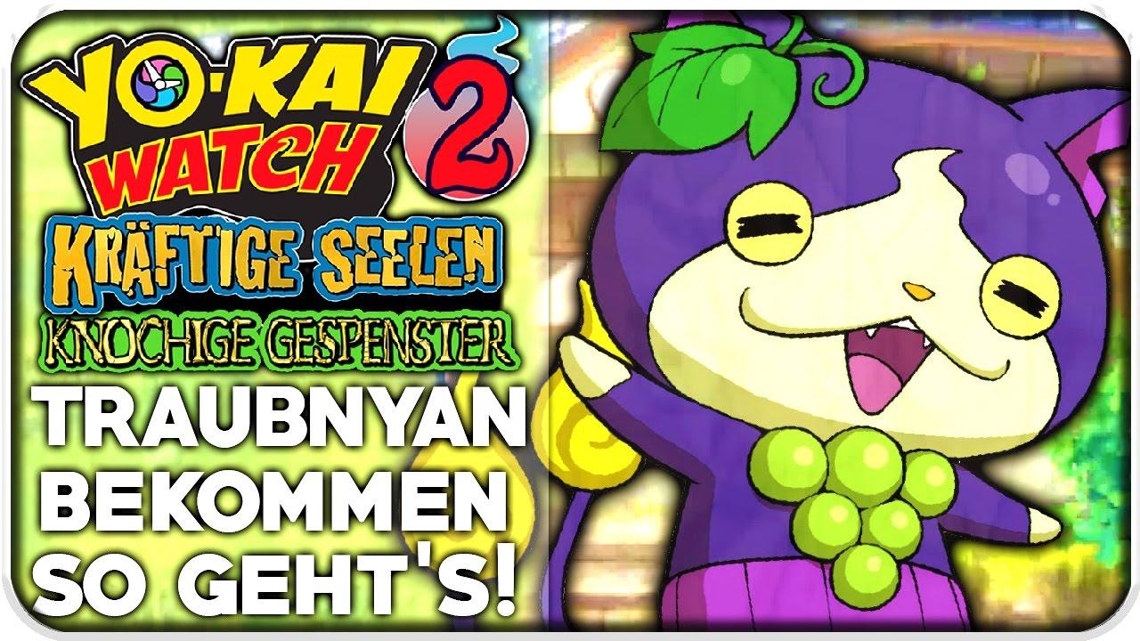 Traubnyan Durch Traubensamen Bekommen Yo Kai Watch 2 Kräftige