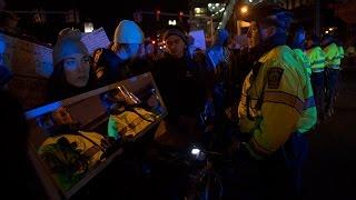 Boston Protests Block Traffic