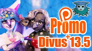 Promo: Betty Aves repaint + Divus 13.5, The Message