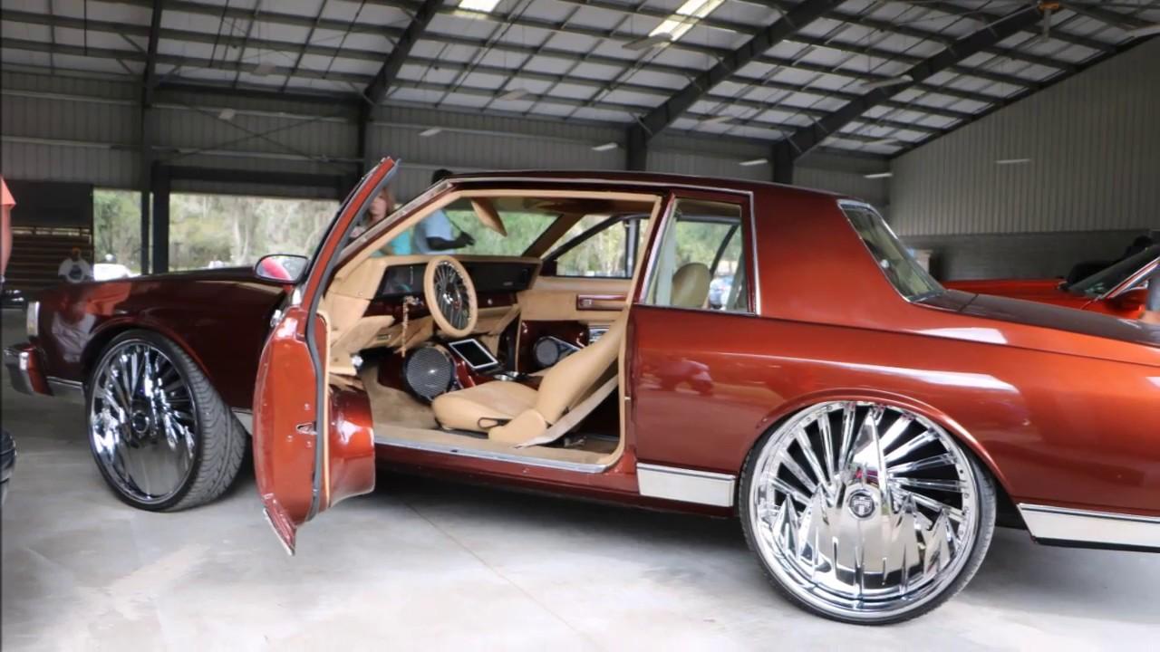 WhipAddict: Chevrolet Caprice Landau squattin DUB F U  26s, Custom Paint &  Interior