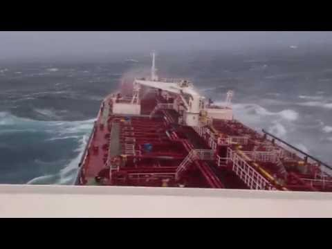 Ardmore Endeavour in bad Weather