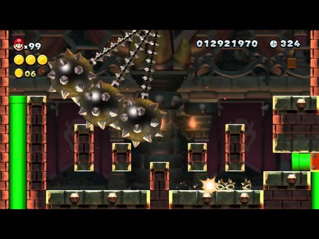 NSMBU Mini Run - Superstar Road-8 - Pendulum Castle