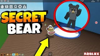 i found the secret bear, this is what he looks like.. (Roblox Bee Swarm Simulator Secrets)