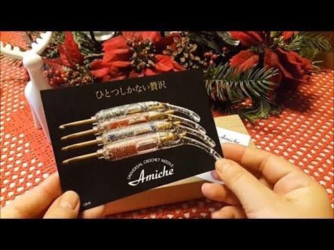 Amiche  японский крючок  Вязание крючком новогодний подарок