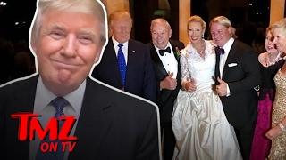 Donald Trump Made a Surprise Cameo at a Wedding   TMZ TV