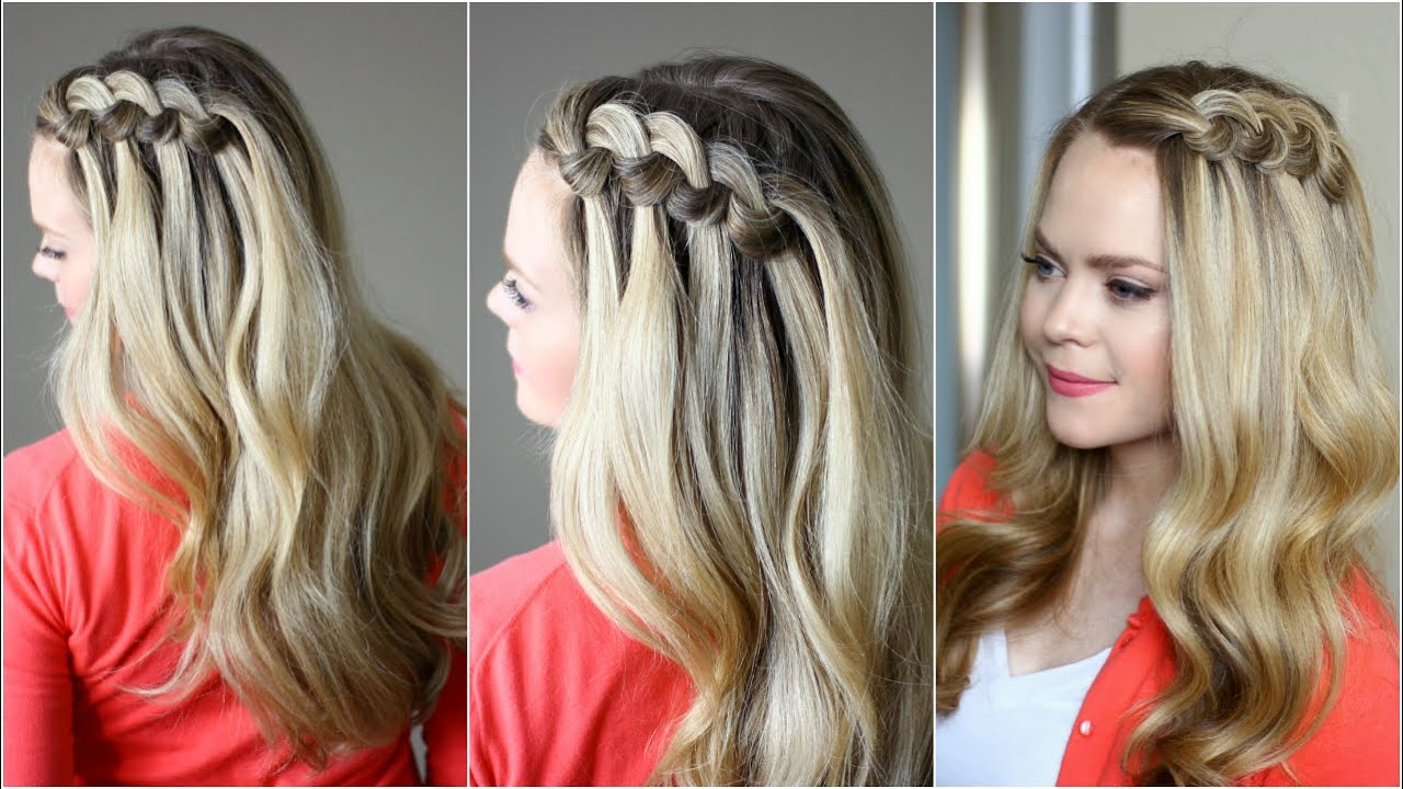 Looped Knot Braid | Missy Sue - YouTube