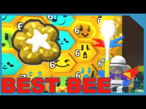 UNLOCKING THE BEST GIFTED BEE - BEE SWARM SIMULATOR