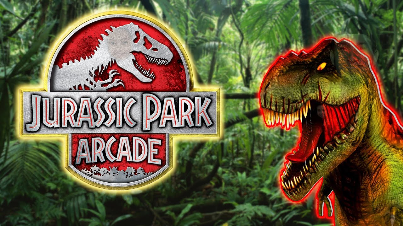 jurassic park arcade arcade video game youtube. Black Bedroom Furniture Sets. Home Design Ideas