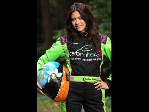 Leilani Munter: Professional Race Car Driver, Environmental Activist, Model, Keynote Speaker