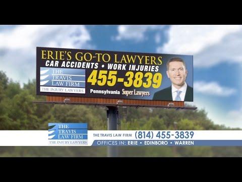 Local Pennsylvania Injury Attorneys of The Travis Law Firm | Erie PA, Edinboro PA, Warren PA