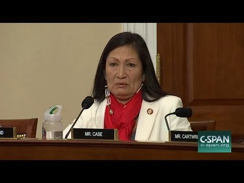Hearing on missing and murdered indigenous women brings tears to Haaland's eyes