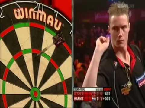 Darts World Championship 2012 Semi Final Tony O'Shea vs Wesley Harms