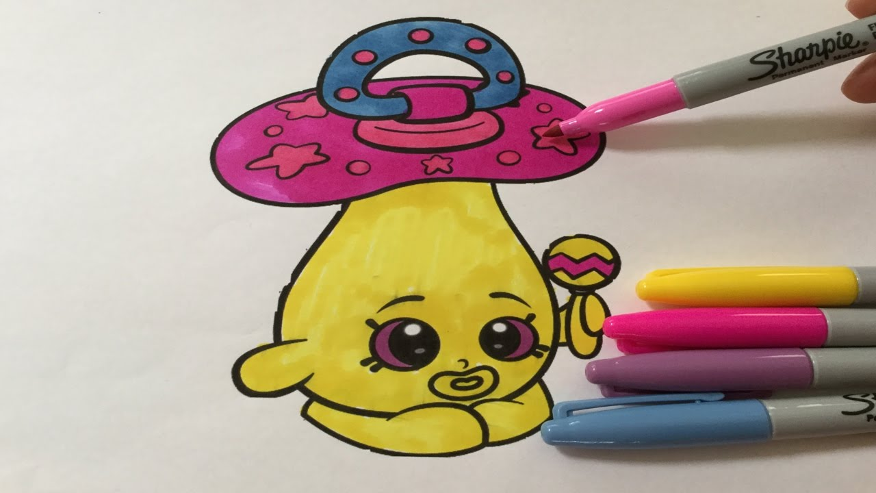 Lets Color Shopkins Dum Mee SHOPKINS COLORING BOOK