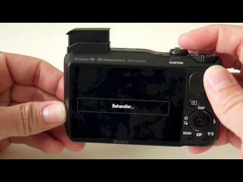 Sony Cyber-shot DSC-HX20V Preview