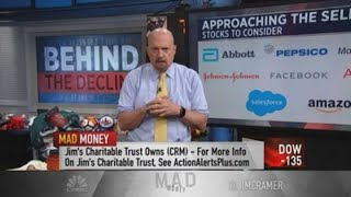 Jim Cramer breaks down Thursday's sell-off: It was 'pure profit-taking'
