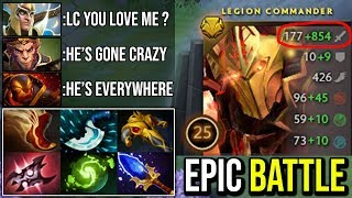 This LC Has Gone Mad | Unstoppable Duel With Refresher and Scepter 35KIlls Epic Crazy TP Duel Dota 2