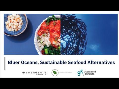 Bluer Oceans, Sustainable Seafood Alternatives