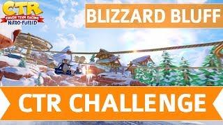 Crash Team Racing Nitro Fueled - Blizzard Bluff CTR Challenge Token Locations