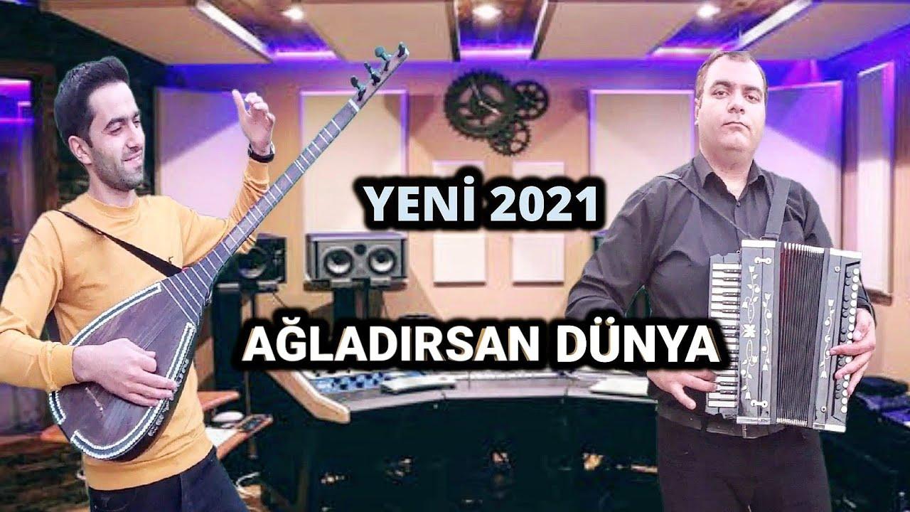Kimi Agladirsan Dunya - SazMen Ceyhun Yeni Mahnilar Ağladırsan Dünya Saz Qarmon Super Duet Yeni 2021