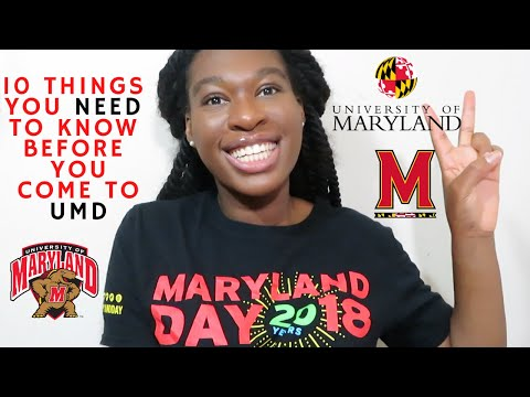 10 Things You NEED To Know BEFORE Coming To THE UNIVERSITY OF MARYLAND| UMD TIPS & ADVICE