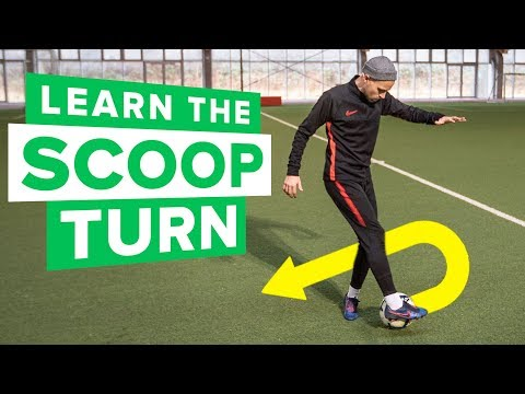 LEARN THE SCOOP TURN | the KING of football skills