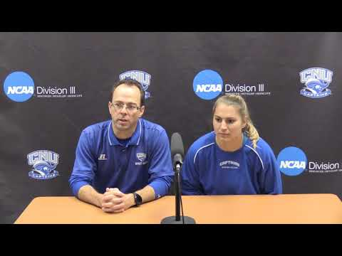 NCAA Women's Soccer - CNU Post Game Press Conference