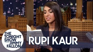 Rupi Kaur Reads Timeless from Her Poetry Collection The Sun and Her Flowers