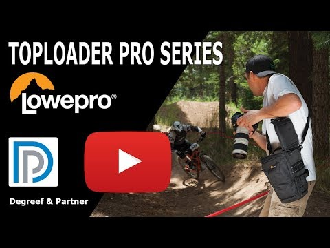 Lowepro Toploader Pro II Series - Compact camera bag for a body with zoom lens!