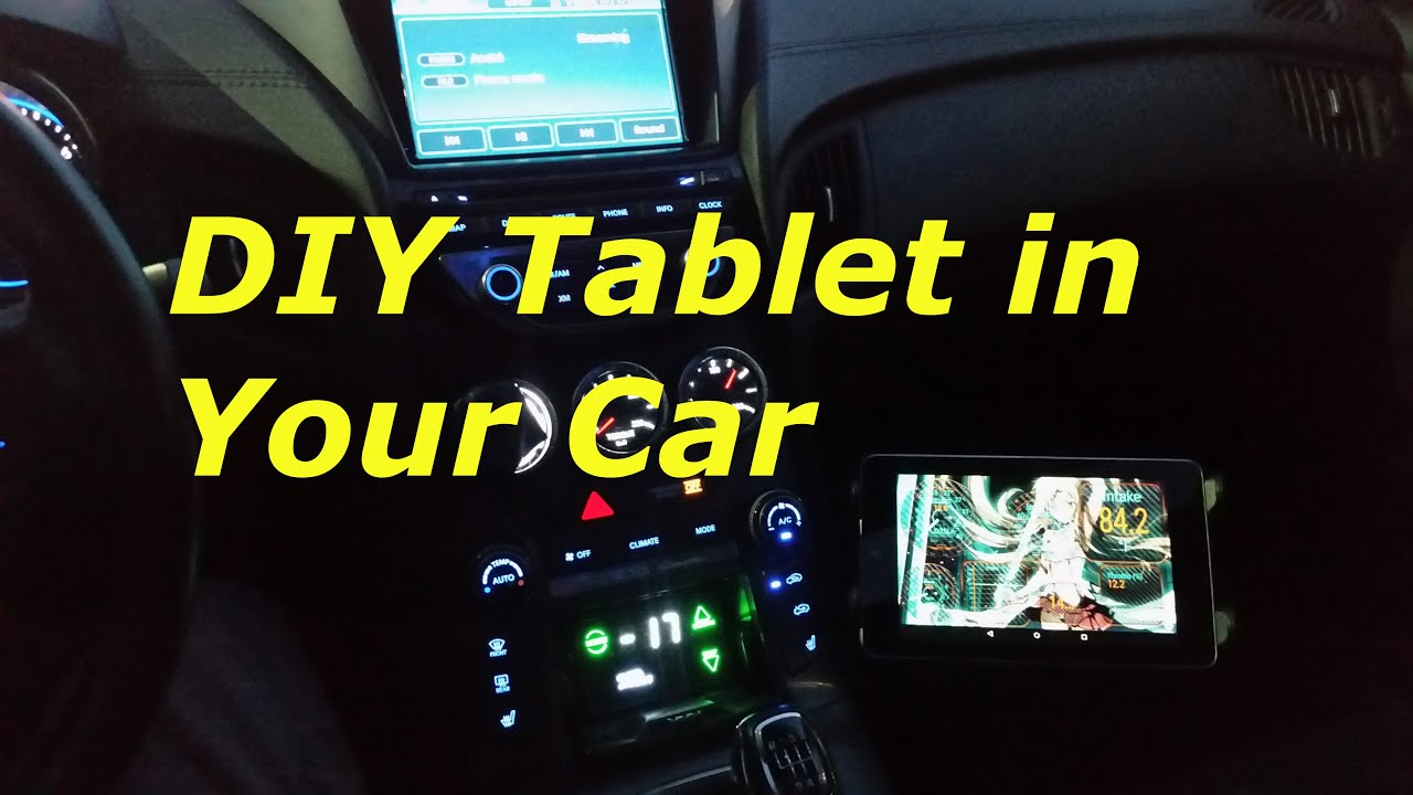 how to mount a tablet in any car for 30 youtube keyboard keysfo Choice Image
