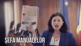 Cine e femeia care răspunde de manualele elevilor din România