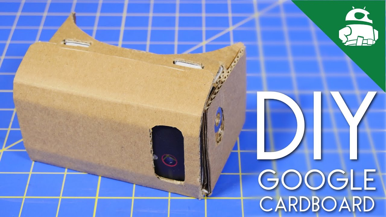 diy google cardboard how to youtube. Black Bedroom Furniture Sets. Home Design Ideas