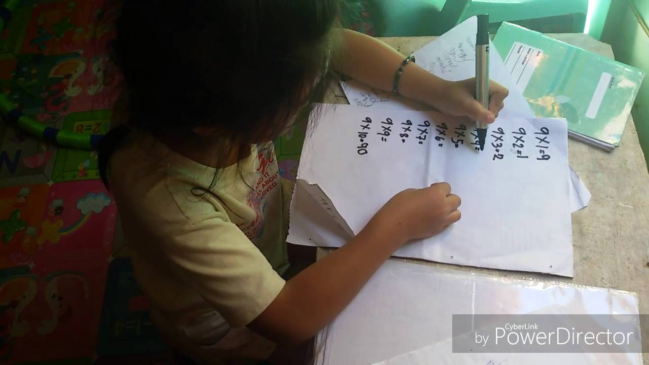 Easy way to learn multiplication table of 9 youtube easy way to learn multiplication table of 9 gamestrikefo Choice Image