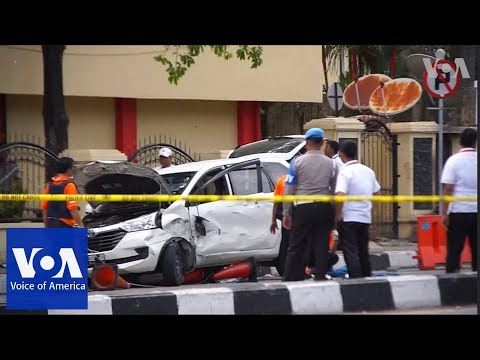 Indonesia police shot dead four men who attacked police headquarters