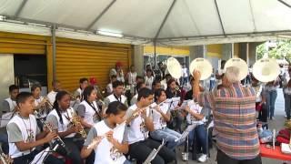 BANDA SHOW FRANCISCO DE MIRANDA, ENSAYANDO LA QUINTA SINFONIA DE BEETHOVEN