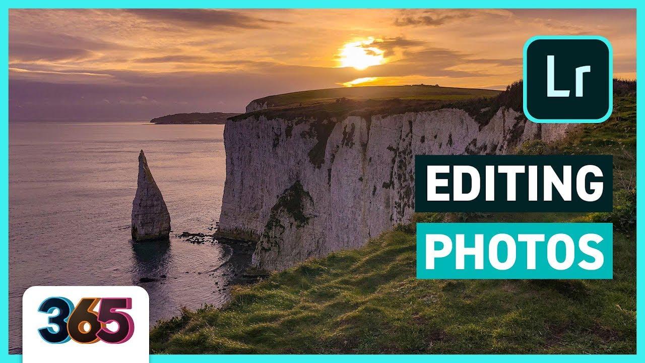 🖼 Editing Photos   Lightroom CC & Photoshop Fix Tutorial  #84/365 Days of Creativity