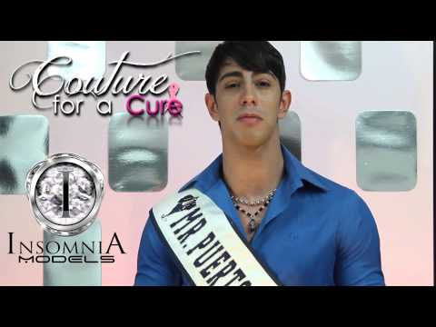 COUTURE FOR A CURE Gutierrez, Mr. Puerto Rico Model 2013