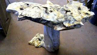 Natural Edge Furniture - Andrew Somawang - California Fruitwood 8-19-2011